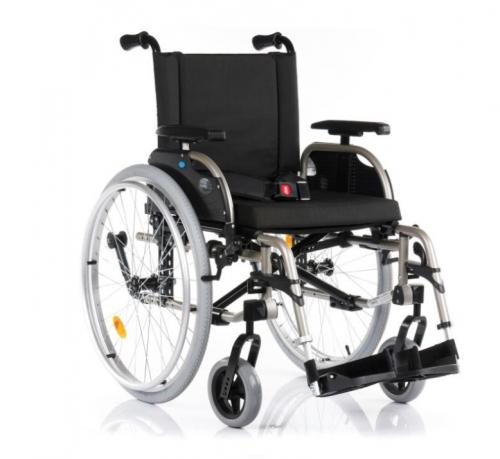 Platinum aluminum wheelchair