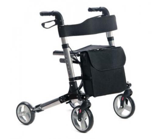 Mobilus Lite 4-wheel aluminium rollator